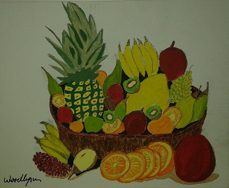 Fruit Basket Painting